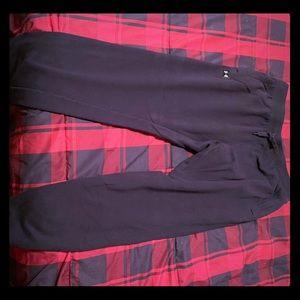 Black UA Sweat Pants